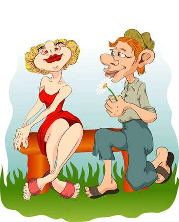 gnomos: los gnomos de amor en el banquillo
