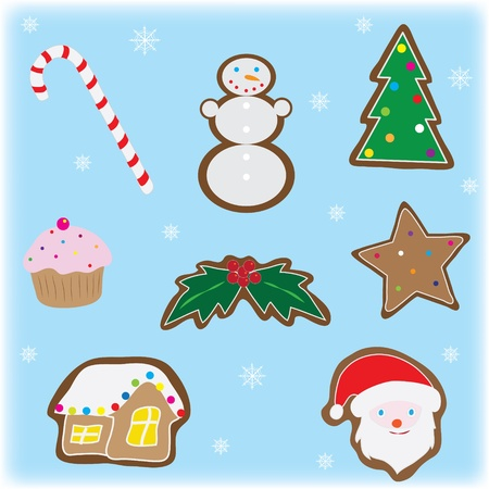 Set of christmas elements Stock Vector - 11349749
