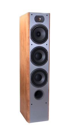 Isolated loudspeaker on the white background Stock Photo - 4009433