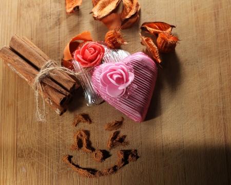 kalpli çikolata Stock Photo