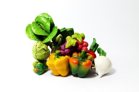 Fruit vegetables magnets