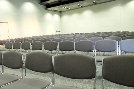 Nobody in conference room