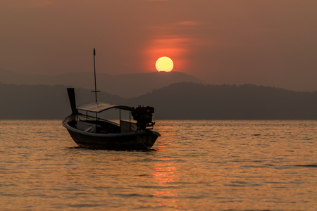 Sunrise at Koh Phayam, Ranong, Thailand Stock Photo