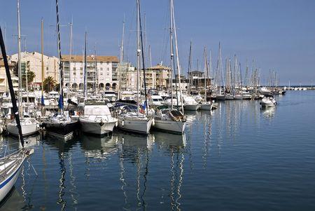 Port de Fréjus Banque d'images - 1799161