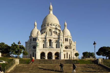 Basilique du Sacré-Coeur de Paris  Banque d'images - 2045984
