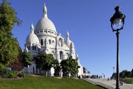 Basílica de Sacré-Coeur de París  Foto de archivo - 2097057