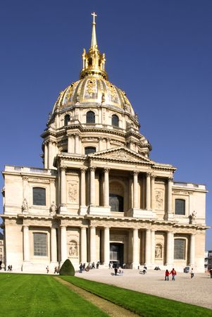invalides: The church of invalides