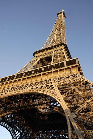 Eiffel tower of Paris Фото со стока