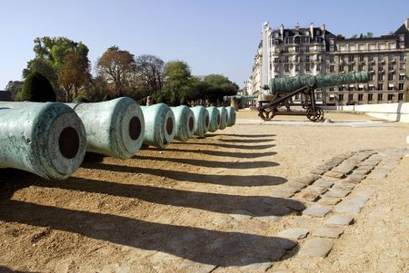 invalides: Cannons at the Invalides