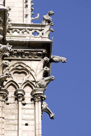 gargouilles: Gargouilles de Notre Dame de Par