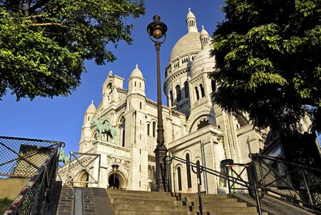 Basílica SACR-Coeur de París Foto de archivo - 2248872