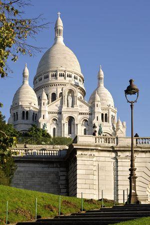Basilica Sacré-Coeur Paris Фото со стока