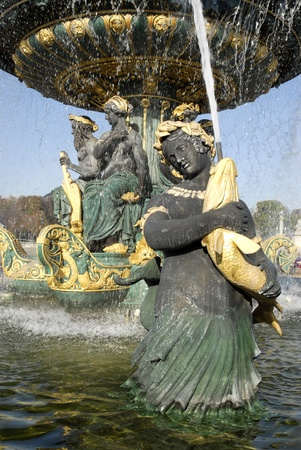 Famous art fountain at Paris in France Stock Photo - 13034142