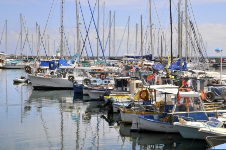 maritimes: Port of Golfe Juan dependent Vallauris on the French Riviera, department Alpes Maritimes