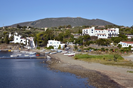 Port Lligat in Spain, village located on the Costa Brava at northeastern Catalonia in Spain