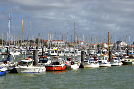 vendee: Port of Saint-Gilles-Croix-de-Vie, commune in the Vendee department in the Pays de la Loire region in western France