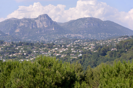 vence: Surroundings of Saint Paul de Vence, common in the Alpes-Maritimes department on the French Riviera