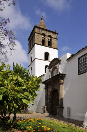 marcos: San Marcos Church of Adeje in the northwest of Tenerife in the Spanish Canary Islands