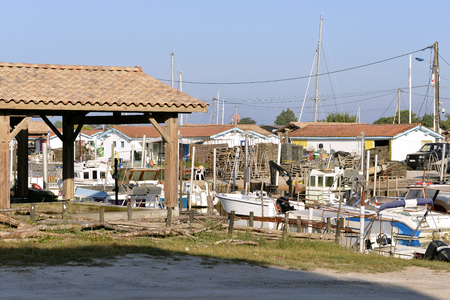 gironde department: Ostreicole harbor of Ars, commune is a located on the northeast shore of Arcachon Bay, in the Gironde department in southwestern France.