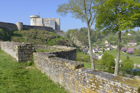 conqueror: Castle of William the Conqueror of Falaise, a commune in the Calvados department in the Basse-Normandie region in northwestern France