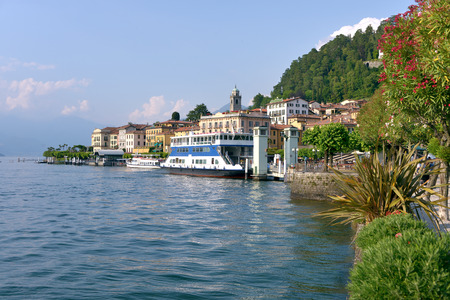 Bellagio on the lake Como, a comune in the Province of Como in the Italian Region of Lombardy
