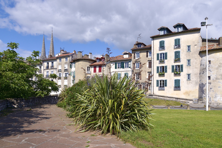 gascony: City and plants of Bayonne, commune in the Gironde department in southwestern France.