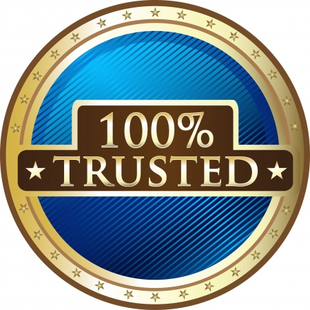 trusted: Hundred Percent Trusted Award