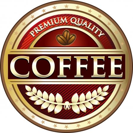 instant coffee: Premium Quality Coffee Award Medal