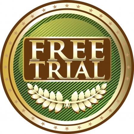 free trial: Free Trial Green Medal