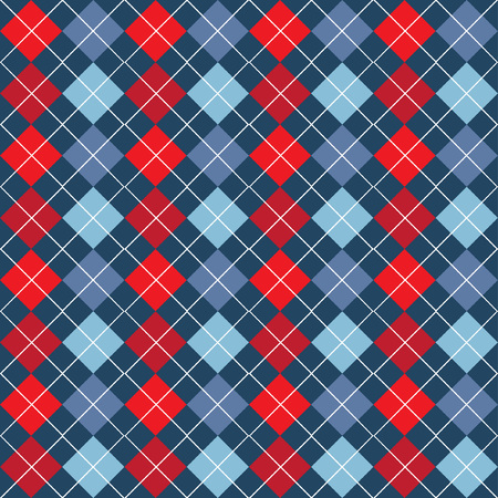 Argyle Seamless Pattern Illustration