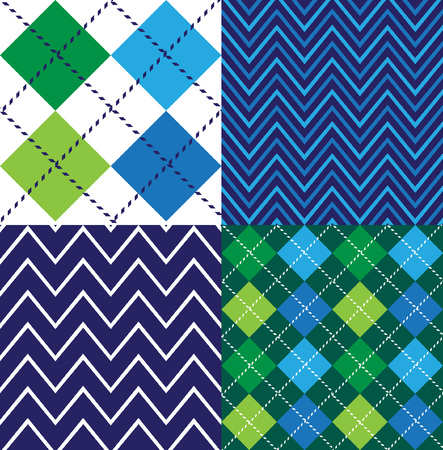 Argyle Seamless Pattern Collection