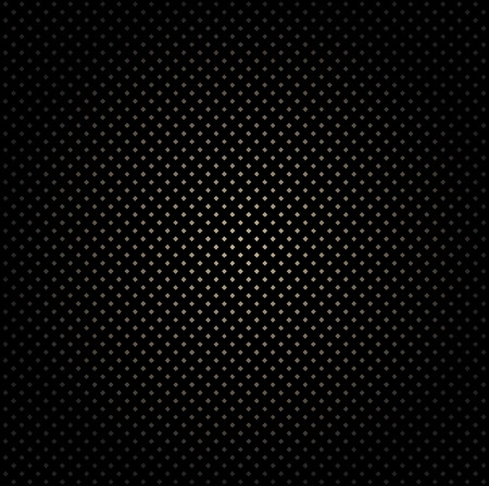 Black Dotted Cell Pattern Background.