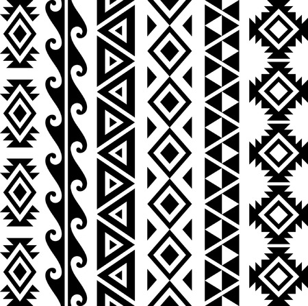 Collezione Seamless Pattern Hawaiian.