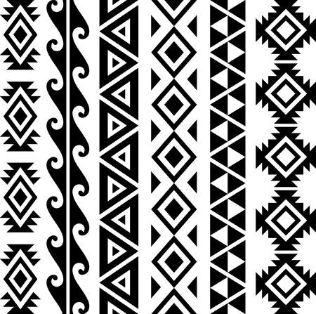 Hawaiian Seamless Patterns Collection.
