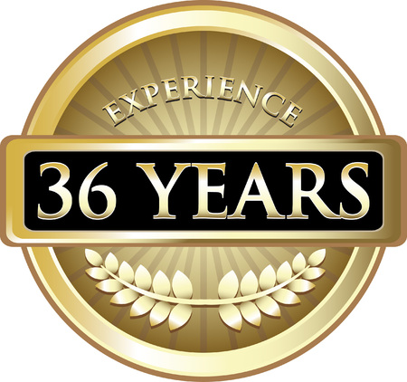 Thirty Six Years Experience Icon