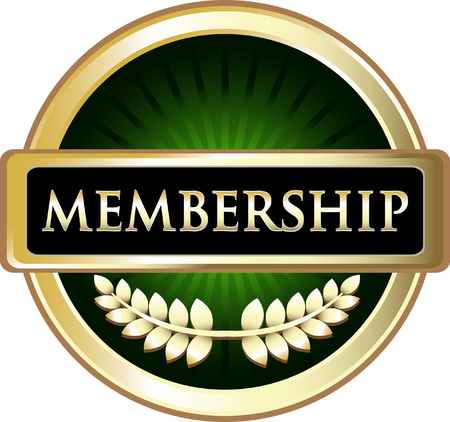 Membership Invitation Icon Vector illustration.