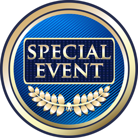 Special Event Icon Vector illustration. Illustration