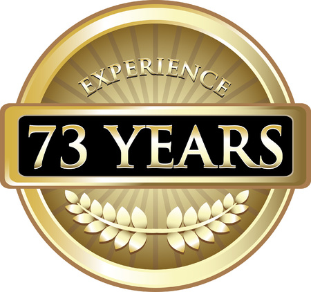 Seventy Three Years Experience Icon