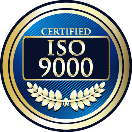 ISO 9000:2005 Label Icon