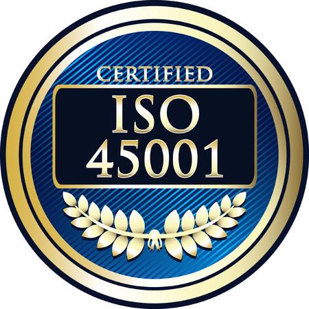 ISO / FDIS 45001 - Sistemas de gestión de salud y seguridad en el trabajo Foto de archivo - 89726387