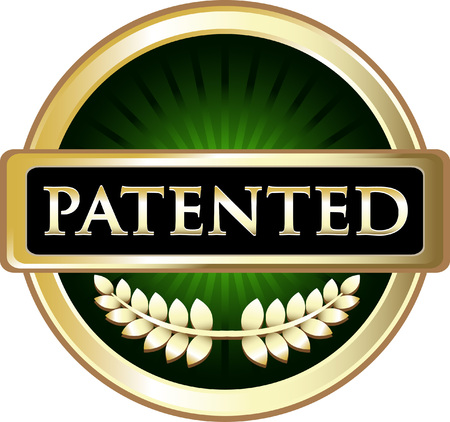 Patented Gold Label Icon