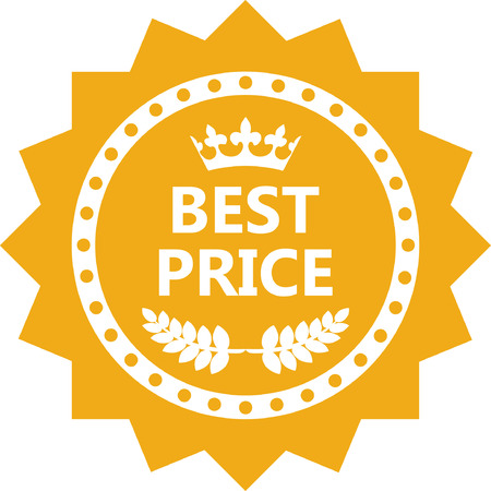 Best Price Gold Label Icon