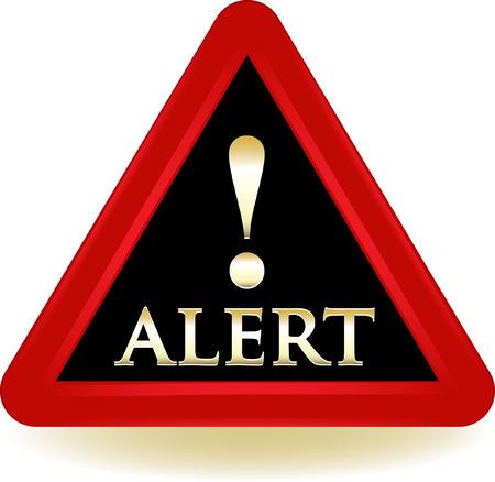 Alert Warning Sign. Çizim