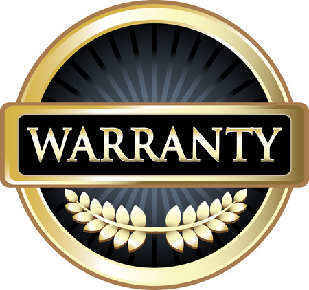 Warranty Gold Label Icon