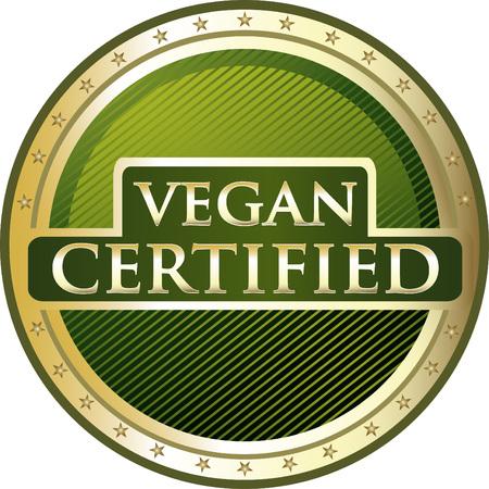Vegan Certified Icon 일러스트