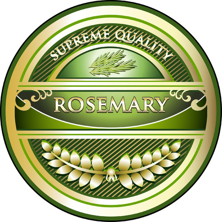 Rosemary Product Label