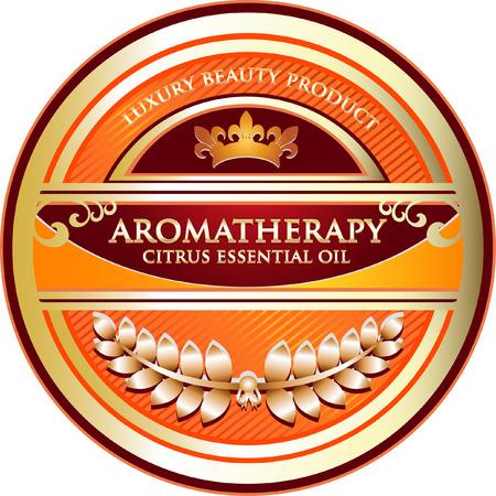 Citrus Aromatherapy Essential Oil Illustration