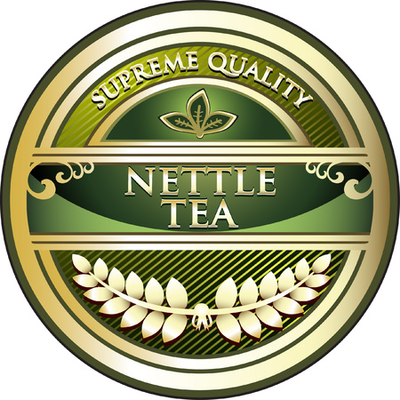 Nettle Tea Product Label
