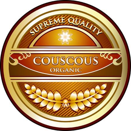 Couscous Product Label