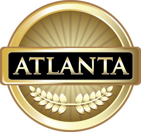 Atlanta Gold Label Icon